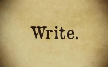 #MCD #amwriting