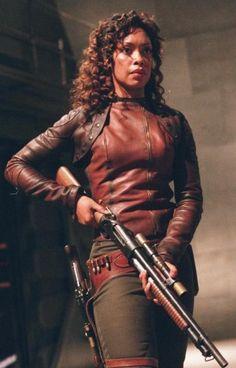 Firefly - Zoe. Scifi women