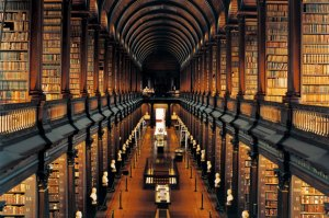 Trinity College Library, Modern Cave Dweller, Harry Tuttle